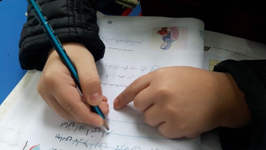 درست نوشتن کودکان