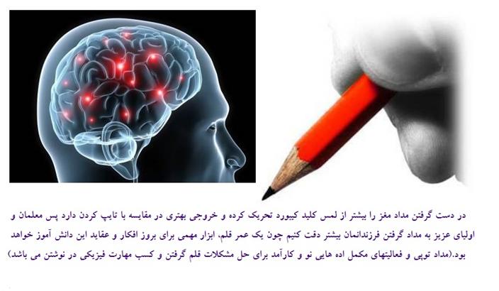 درست گرفتن قلم