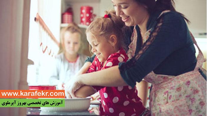 اموزش اشپزی برای کودکان