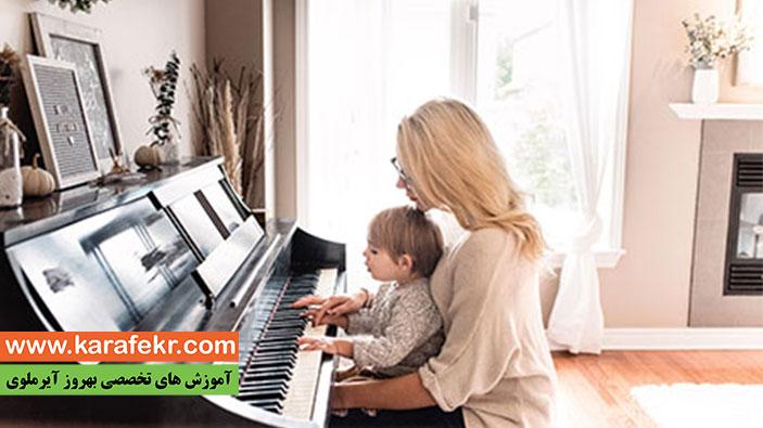 یادگیری موزیک برای کودکان